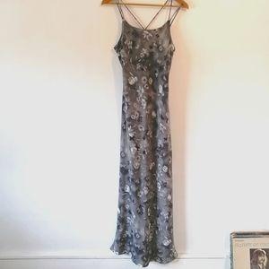 Vintage spaghetti strap dress
